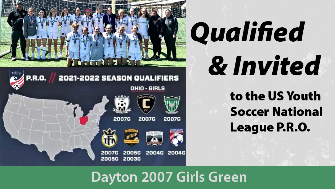 2007G Green Invited to National League P.R.O.